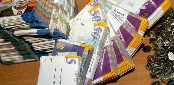שקלים כסף ישראלי / צלם:  תמר מצפי